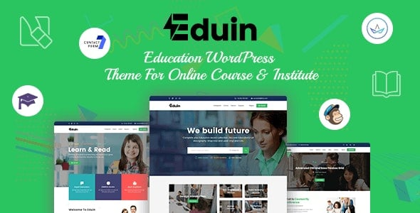 بهترین قالب آموزش آنلاین سال 98 - قالب eduin