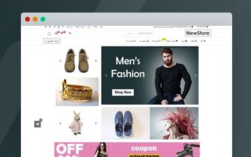 قالب فروشگاهی NewStore برای وردپرس