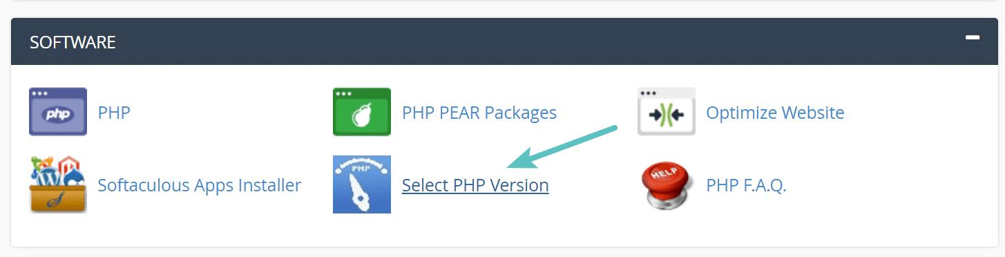 نحوه افزایش حجم آپلود وردپرس - تغییر نسخه php